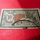 France Scott #131 A18 10fr green & red Canceled
