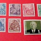 "German GDR Scott's 330-340 A43&35 Full set""Redrawn Types 0f 1953"
