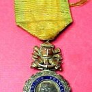 "French World War 1 Medal of "" Valeur et Discilpline""."