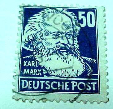 German Democratic Republic Scott's #132 OS2 Russian Occupation 1948 Type 1953!