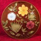 French Vintage Majolica from Sarreguemines, Fantastic Platter