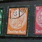 "German Scott's #436-441 ""Hindenburg Memorial Issue"" 1932 type Sept.4,1934"