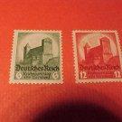 "German Scott's #442-443 ""Hindenburg Memorial Issue"" 1932 type Sept.1,1934"