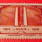 France Scott #311 Canadien War Memorial at Vimy 1936