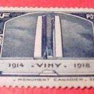 France Scott #312 Canadien War Memorial at Vimy 1936