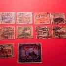 Saar Stamp set(s) #85-98 Canceled