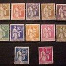 France Scott set #264-283 A45 1932-39 M/NH/OG