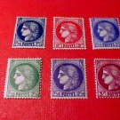 France Scott set #335-340 A81 Ceres 1938-40