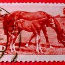 Saar Stamp B67- SP35 Mare and Foal15fr+5f Sept 25,1949