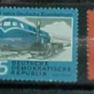 "German GDR Scott's 529-531 A172 ""German Railroads"" Dec.5,1960"