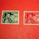 "German Scott's set B132-133 SP114 Dec.2,1938 "" Sudetan Couple"" Mint-Never Hinged"