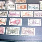 Saar Stamp set 120-137 canceled- Nov.1 1927-1932