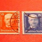 "German Scott's set B19-22 SP13 Sept.26,1927 ""Pres Paul von Hindenburg"" Canceled"