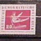 "German GDR Scott's # B44-B48 SP14 ""Sports Festival Leipzig"" Aug.10,1959"