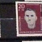 "German GDR Scott's # B60-B64 SP12 ""Portraits in Grey"" 1960"