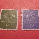 """German Scott's set #805-6 CD2 Full Set """"Europa Issue"""" 1959"""