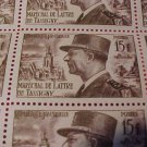 France Scott #675 A217 Marshall Tassigny May 8,1952