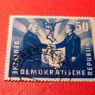 "German Democratic Republic Scott's #81 ""Polish-German Handshake"" Used"