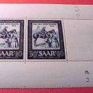 Saar Stamp Scott #B91 SP45 Mar 30,1952 M/NH/OG
