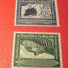 "German Scott's #C59 & C60 AP11&12 "" Count Zeppelin"" July 5,1938 Full set"