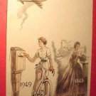 France Scott #612 A1 Postcard 100th Anniversity in Paris May 9,1949
