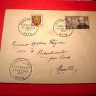 France Scott #667 A211 First Day Cover of poet Paul Verlaine Oct.27,1951