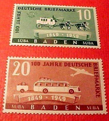 "German Scott's set #5N43-4 OS11 "" Stagecoach"" Sept. 17,1949"