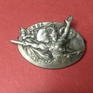 Vintage French Military Pin from Drago Paris # 2225