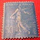"France Scott #144 A20""Sower"" dull blue1903-38 M/NH/OG"