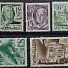 German Scott's set #8N1-8N13 OS1-6 'Wurttemburg 1947-1948