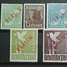 "German Scott's set #9N21-9N32 A120-A123""Berlin Occupation"" Wmk. 284 1948-49 Typo"