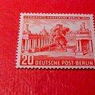 "German Scott's set #9N103 A13 ""Allied Council Building"" Jan.25,1954"