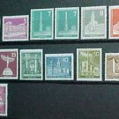 "German Scott's set #9N120 & 9N136 A23-A26 ""Designs"" Mar.16,1956"