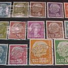 "Saar Stamp set Scott #289-305 A86 ,1957 with ""F"""