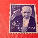 "German Scott's set #9N111 A17 "" Richard Strauss""Sept.18,1954"