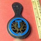 Vintage Enameled French Militaire Badge Pin G2756 from Drago of Paris