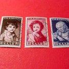 Saar Stamp Scott# B92-94 SP46 Nov.3,1952