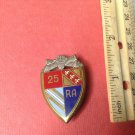 Vintage Enameled French Militaire pin by Drago pf Paris H706