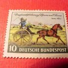 German Scott's #692 A143 Thurn and Taxis Postilion Oct.25,1952