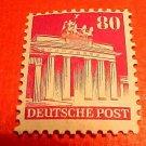 German Scott's #655a. A130 80 pf Perf.14 Brandenburg Gate, Berlin