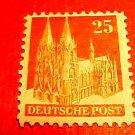 German Scott's #648a. A129 Perf.14