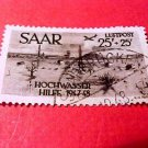 Saar Stamp Scott # CB1 SNAP1 Oct.12,1948