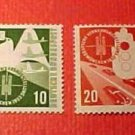 "German Scott's set #698-701 A149 ""Train and Hand Signal"" June 20,1953"