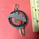Vintage Enameled French Militaire Pin by Andor Le Cannet 06