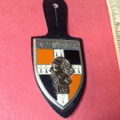 Vintage Enameled French Militaire Badge pin by Drago #2620