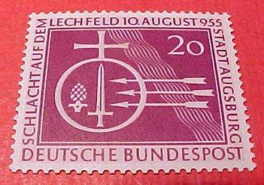 "German Scott's set #732 A160 ""Orb and Symbols of Battle"" Aug.10,1955"