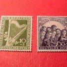 "German Scott's Set #9NB4-9NB5 SP2&3 "" Harp and Angels"" Oct.29,1950"