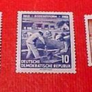 "German GDR Scott's 255-257 A71 Full set"" Land Reform Program"" June 20,1955"