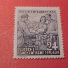 "German Democratic Republic Scott's #178 A48 ""Mail Delivery"" Oct.25,1953"