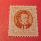 "German Democratic Republic Scott's set 186 A51 ""Franz Shubert""Nov.13,1953"